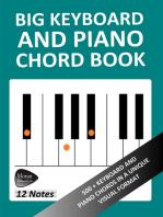 Big Keyboard and Piano Chord Book