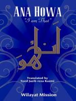 Ana Howa (I am That)