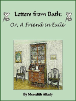 Letters from Bath; Or, A Friend in Exile