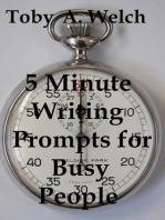 5 Minute Writing Prompts for Busy People