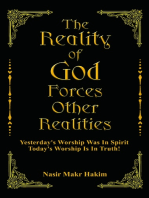 The Reality Of God Forces Other Realities