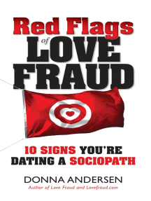 Signs you are dating a sociopath