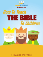 How to Teach The Bible To Children