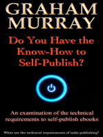 Do You Have the Know-How to Self-Publish?