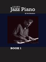 Learn Jazz Piano: book 1