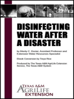 Disinfecting Water After a Disaster