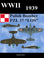 "WWII 1939 Polish Bomber PZL 37 ""LOS"""