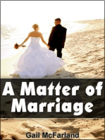 A Matter of Marriage