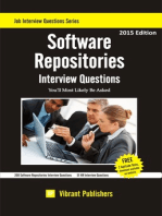 Software Repositories Interview Questions You'll Most Likely Be Asked