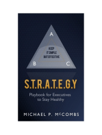 S.T.R.A.T.E.G.Y. Playbook for Executives to Stay Healthy