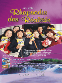 Rhapsody of Realities May 2012 French Edition