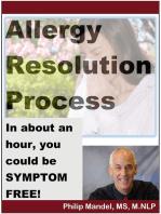 Allergy Resolution Process