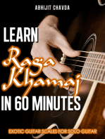 Learn Raga Khamaj in 60 Minutes (Exotic Guitar Scales for Solo Guitar)