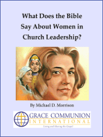 What Does the Bible Say About Women in Church Leadership?