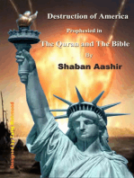 Destruction of America prophesied in the Quran and the Bible
