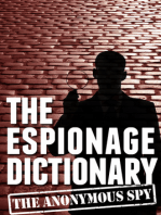 The Espionage Dictionary (the Anonymous Spy Series)