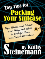 Top Tips for Packing Your Suitcase