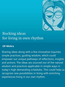 Rocking Ideas For Living In Our Own Rhythm