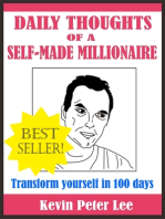 Daily Thoughts Of A Self-Made Millionaire