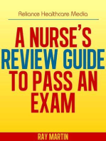 A Nurse's Review Guide to Pass an Exam