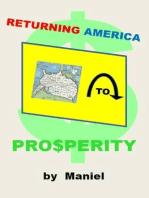 Returning America to Prosperity