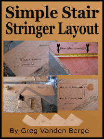 Simple Stair Stringer Layout