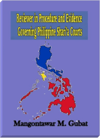 Reviewer in Procedure and Evidence Governing Philippine Shari'a Courts