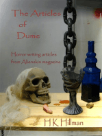The Articles of Dume