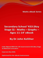 Secondary School 'KS3 (Key Stage 3) - Maths – Graphs – Ages 11-14' eBook