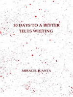 30 Days to a Better IELTS Writing