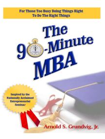 The 90-Minute MBA