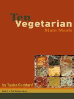 Ten Vegetarian Main Meals