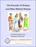 The Proverbs 31 Woman and Other Biblical Women