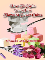 How To Make Your Own Flavored Sugar Cubes