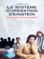 Le système d'opération d'Einstein