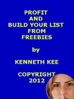 Profit And Build Your List From Freebies