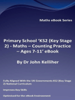 Primary School 'KS2 (Key Stage 2) - Maths – Counting Practice - Ages 7-11' eBook