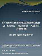 Primary School 'KS1 (Key Stage 1) Maths – Number – Ages 5-7' eBook