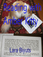 Reading with Amber Kitty