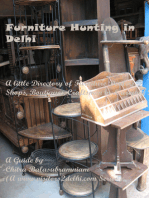 Furniture Hunting in Delhi