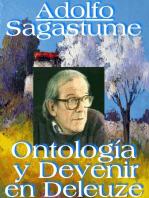 Ontologia y Devenir en Deleuze