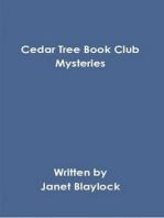 Cedar Tree Mysteries Book Club