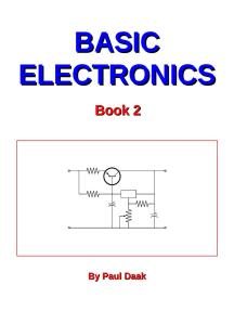 Basic Electronics: Book 2