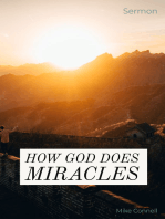 How God Does Miracles (sermon)