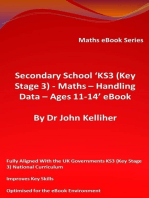Secondary School 'KS3 (Key Stage 3) – Maths – Handling Data – Ages 11-14' eBook