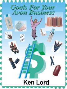 Goals for your Avon Business