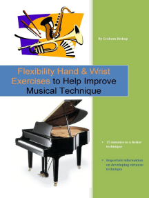 Flexibility Hand & Wrist Exercises to Help Improve Musical Technique