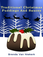 Traditional Christmas Puddings And Sauces