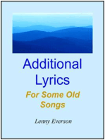 Additional Lyrics for Some Old Songs
