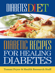 Diabetes Diet: Diabetic Recipes for Healing Diabetes